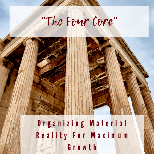 The Four Core: Organizing Material Reality For Maximum Growth