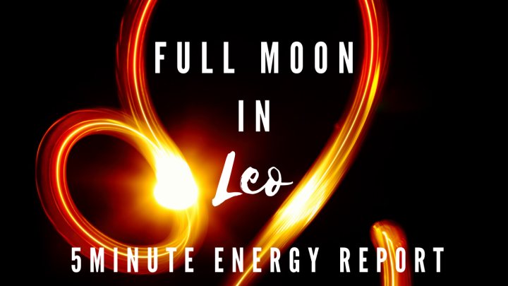 Top 3 For the Full Moon in LEO [January 2021]